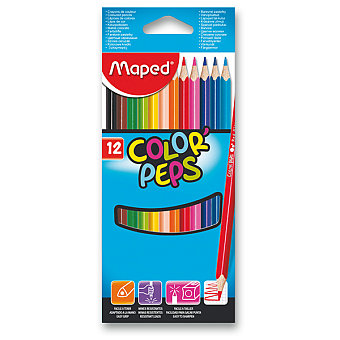Pastelky Maped Color Peps-12 barev
