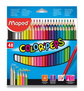 Pastelky Maped Color Peps-48 barev