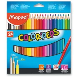 Pastelky Maped Color Peps-24 barev